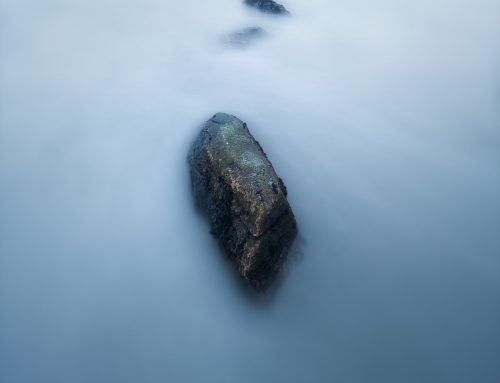 A rock and the Sea